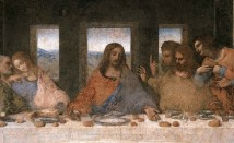 Last Supper 1498 (Post Restoration-Detail)