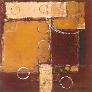 Circles on Red-Brown II