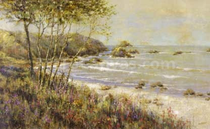 Wildflowers at the Sea