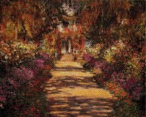 Path in Monet's Garden, Giverny