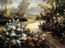 Pathway of Flowers