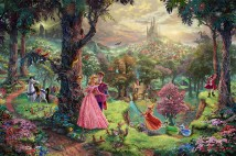 SleepingBeauty ThomasKinkade 42-28