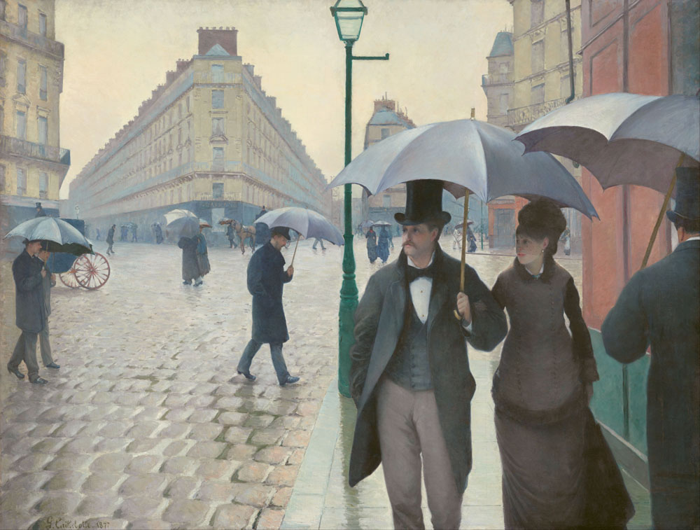 Gustave Caillebotte - Paris Street; Rainy Day