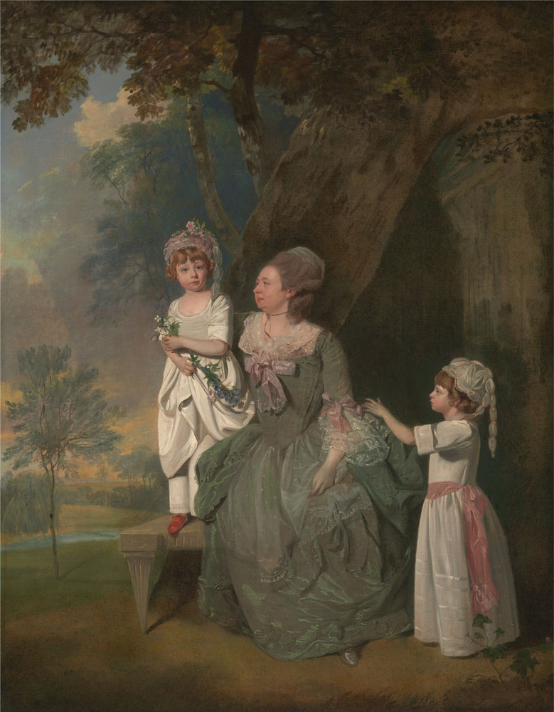 francis_wheatley_-_mrs-_barclay_and_her_children