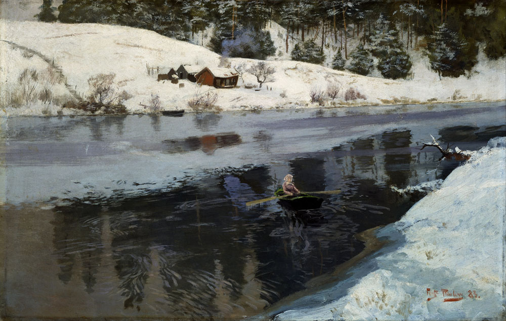 frits_thaulow_-_winter_at_the_river_simoa