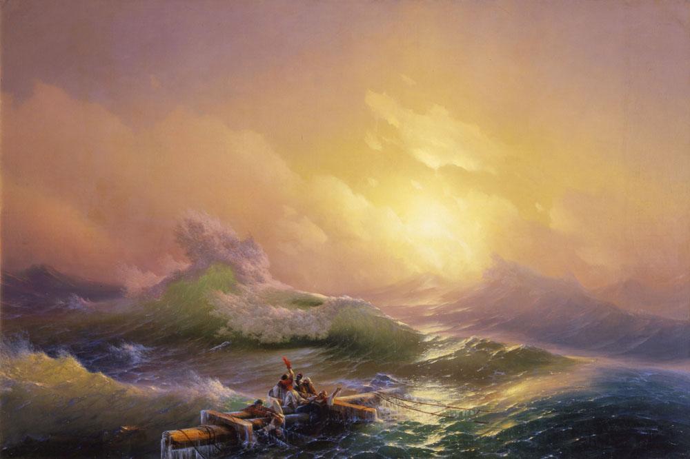 Hovhannes Aivazovsky - The Ninth Wave
