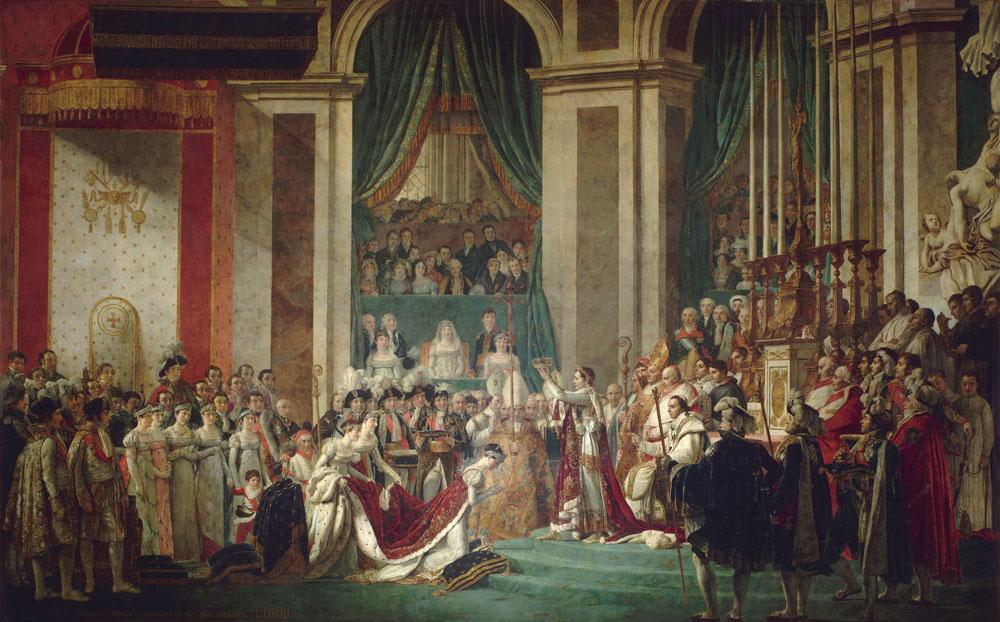 Jacques Louis David - Le Couronnement De Lempereur Et De Limpc3A9Ratrice 2 Dc3A9Cembre 1804