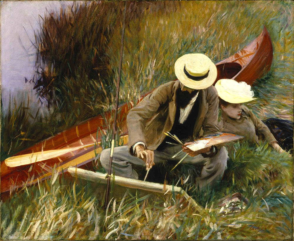 Out of Doors Study - John Singer Sargent