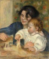 30x36 Gabrielle and Jean Pierre-Auguste Renoir