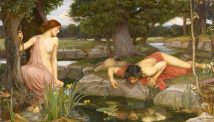 John William Waterhouse Echo and Narcissus