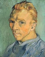 Self Portrait Without Beard Van Gogh GE