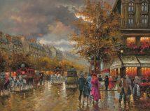 Vintage Street Scene Richards