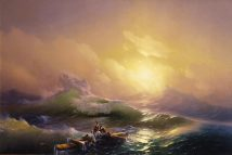 The Ninth Wave Hovhannes Aivazovsky LOW