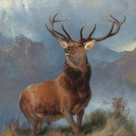 Monarch of Glen Edwin Landseer LOW